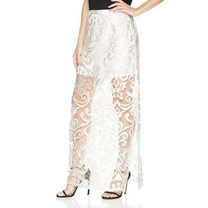NWT findersKEEPERS Sz XL Alchemy Lace Maxi Skirt
